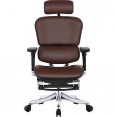 ERGOHUMAN Plus LegRest Lux кожаное кресло руководителя