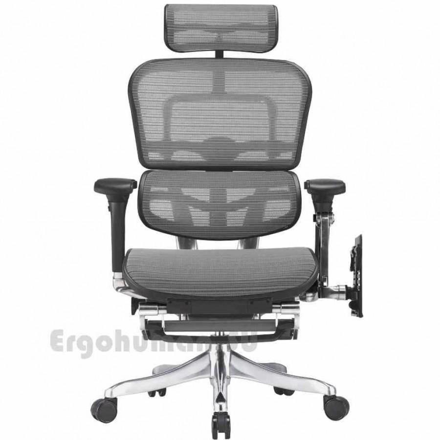 ERGOHUMAN Plus LegRest Mesh сетчатое кресло реклайнер
