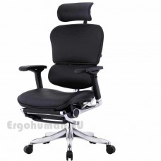 ERGOHUMAN Plus LegRest Lux кожаное кресло реклайнер