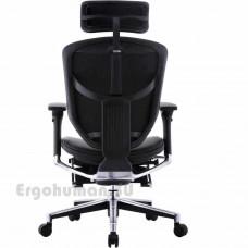 ENJOY LegRest Lux кожаное компьютерное кресло реклайнер с подставкой для ног