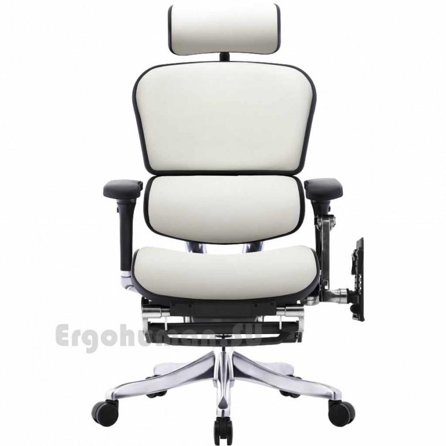 Кожаное кресло руководителя ERGOHUMAN Plus LegPro Lux