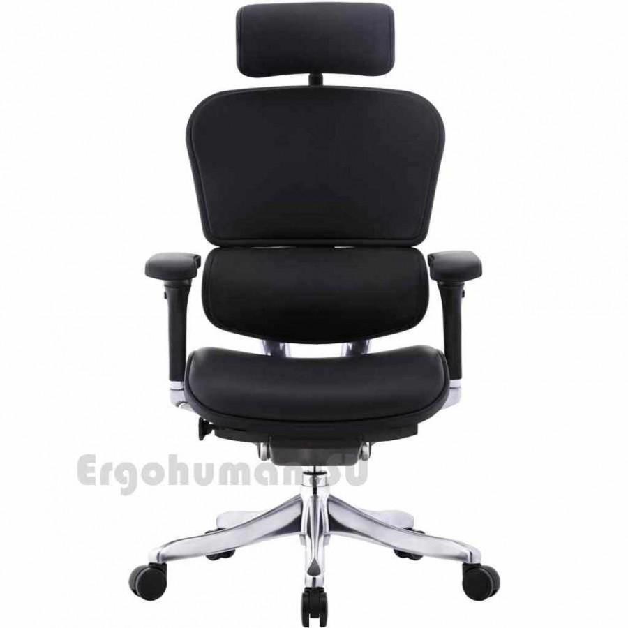 Ортопедическое кресло из кожи ERGOHUMAN Plus Lux