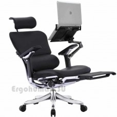 ERGOHUMAN Plus Luxury LegRest кожаное кресло-реклайнер