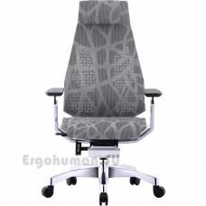 GENIDIA Mesh White сетчатое кресло для компьютера