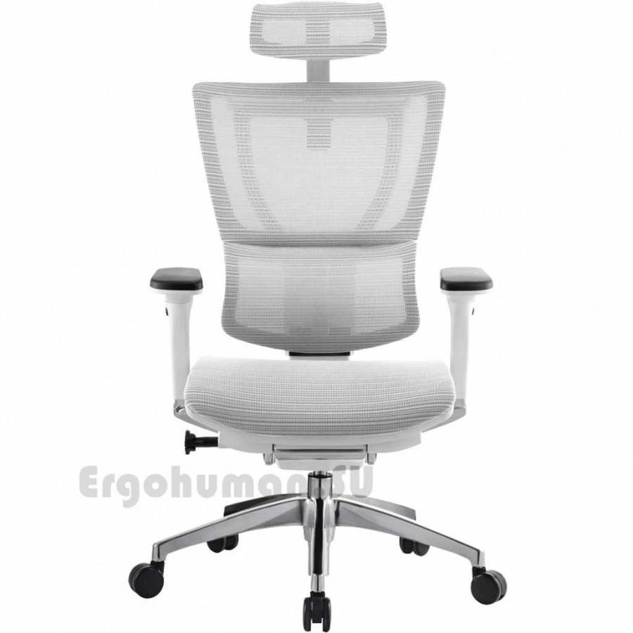 Сетчатое ортопедическое кресло MIRUS IOO White