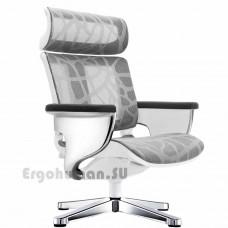 NUVEM Lounge Mesh Chrome сетчатое кресло реклайнер