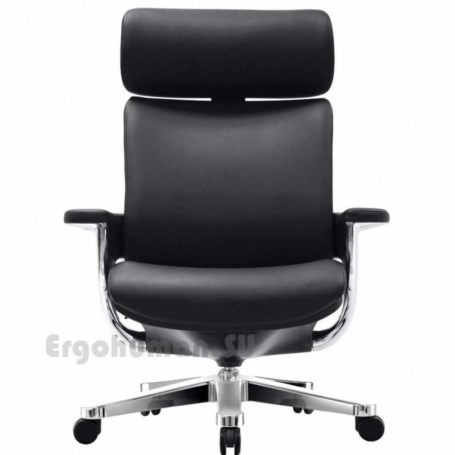 Кожаное кресло для руководителя NUVEM ExecutiveLux Chrome