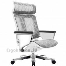 NUVEM Executive Mesh Chrome сетчатое кресло для кабинета