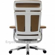 NUVEM Executive Lux Chrome кожаное кресло руководителя