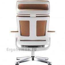 NUVEM Lounge Lux Chrome кожаное кресло реклайнер