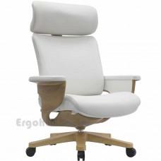 NUVEM Executive Lux Wood Decor кожаное кресло для кабинета