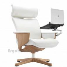 NUVEM Lounge Lux Wood Decor кожаное кресло реклайнер