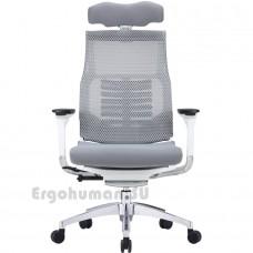 POFIT Bionic White белое сетчатое компьютерное кресло