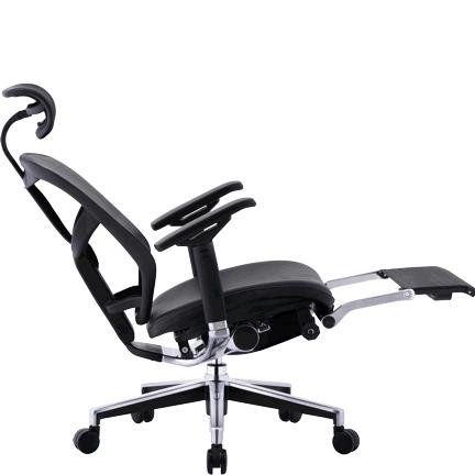 ENJOY LegRest Lux кожаное компьютерное кресло