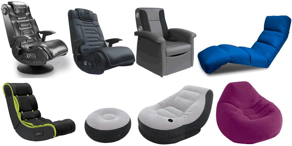 напольные игровые кресла