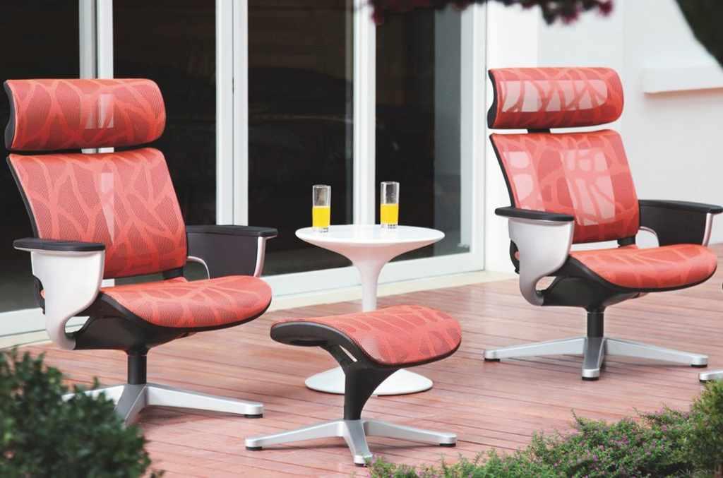 Сетчатое кресло реклайнер для отдыха